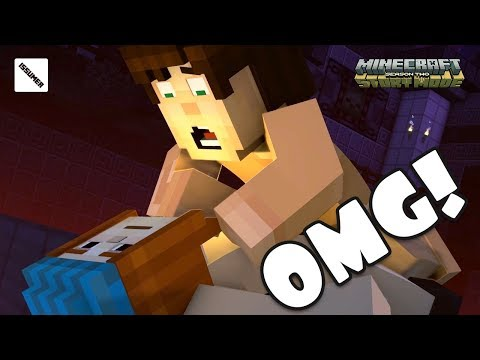 JETRA! VERY STRANGE MOMENT 😵😵😵 Minecraft Story Mode Season 2 Episode 5