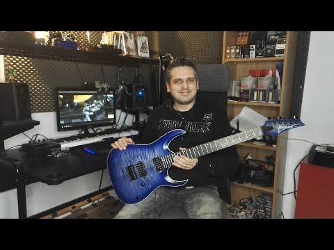 Test : guitare IBANEZ RGA42FM