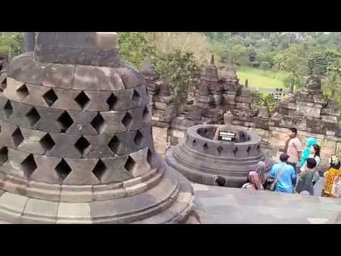 Borobudur Temple Indonesia Travel Guide Video Review บุโรพุทโธ อินโดนีเซีย