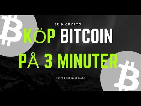 Hur Köper Man Bitcoin? Jag Visar Dig På 3 Minuter!