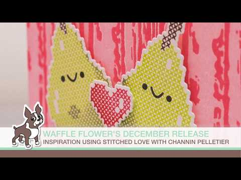 Waffle Flower Crafts NEW Release: Stitched Love