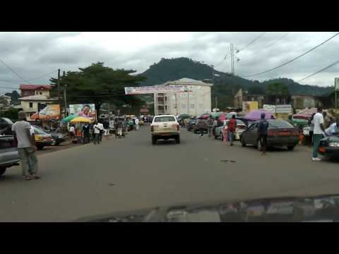 Drive from Half Mile to Down Town Beach, Limbe.