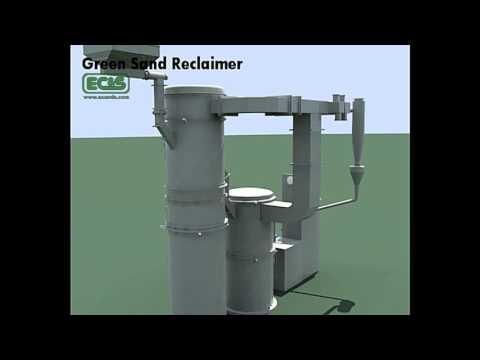 Green Sand Reclaimer