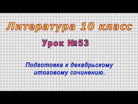 Видеоуроки подготовка к итоговому сочинению по литературе 2017