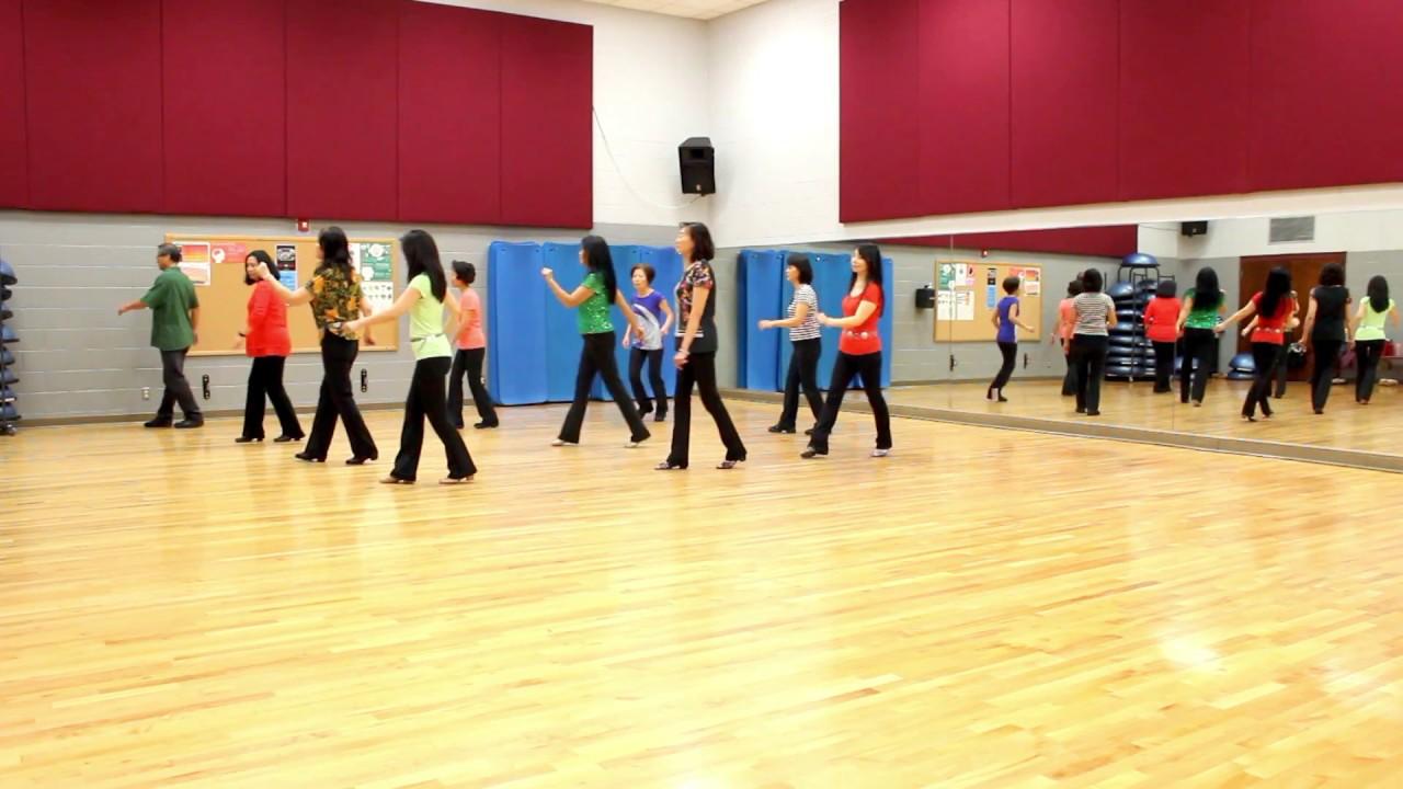 Roll - Line Dance (Dance & Teach in English & 中文) - YouTube