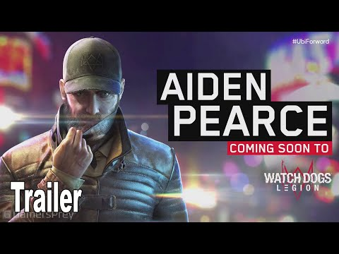 Watch Dogs Legion - Aiden Pearce Reveal Trailer [HD 1080P]