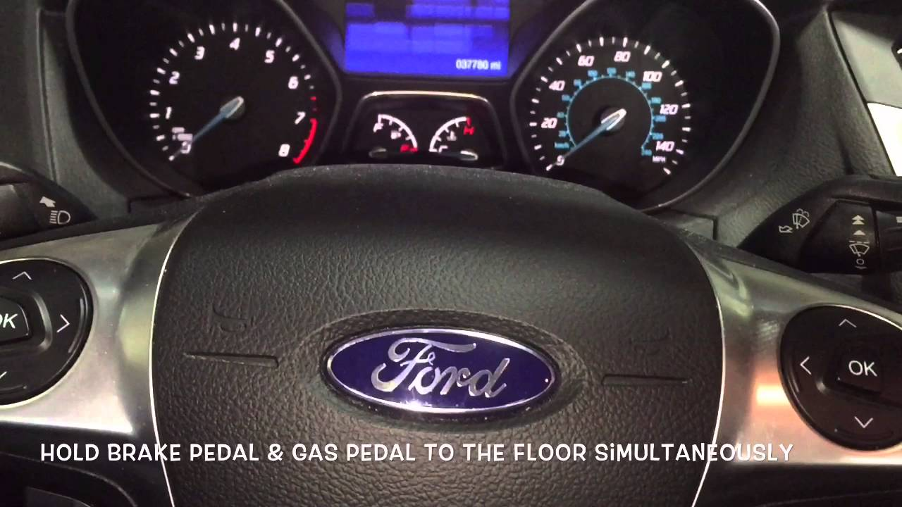 How To Reset Ford Focus Oil Light