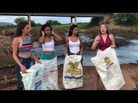 GLEYCE, VANESSA E SUAS AMIGAS NA BRINCADEIRA DO SACO  CANAL DA GLEYCE