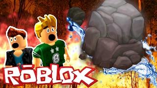 Roblox Adventures - SURVIVE IN ROBLOX!? - Desafío de supervivencia ante desastres naturales