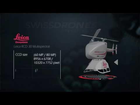 SwissDrones Dragon 50 Lidar, Multispectral, Infrared