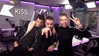 Miley Cyrus and Mark Ronson talk their Expensive Music Video and driving rubbish cars! Video