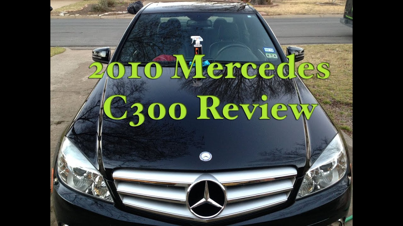 2010 mercedes c300 review youtube. Black Bedroom Furniture Sets. Home Design Ideas