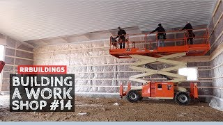 Building a Work Shop: Installing a Metal Ceiling