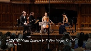 MOZART Piano Quartet in E-flat major, K.493 (mvt II) - ChamberFest Cleveland