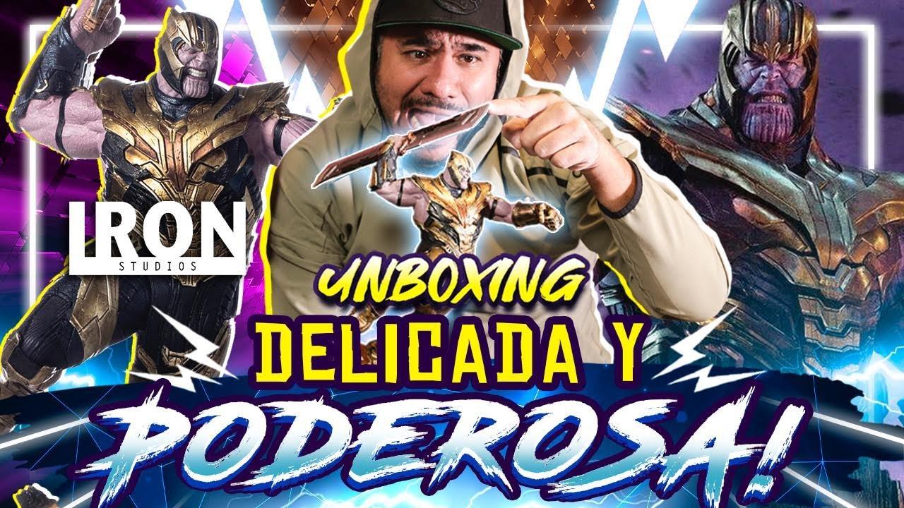 THANOS en Infinity War, la estatuilla de colección en la batalla de Wakanda #Unboxing