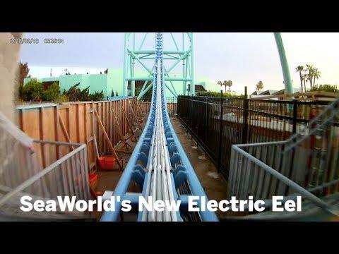 A Ride On SeaWorld's Electric Eel   San Diego Union-Tribune
