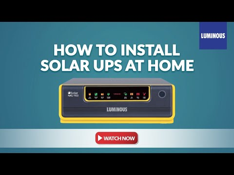 Solar NXG UPS - Installation