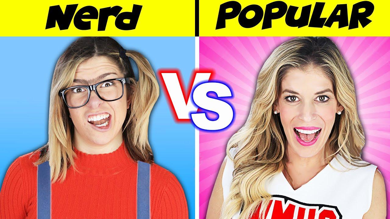 Download How to WIN a DATE! Nerd Vs Popular Girl Challenge to Reveal Rebecca's Secret