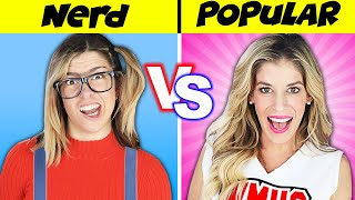 How to WIN a DATE! Nerd Vs Popular Girl Challenge to Reveal Rebecca's Secret