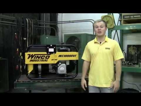 Winco Industrial Portable Generator WC10000VE