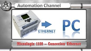 Coneccion Ethernet a un Micrologix 1100