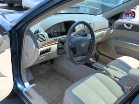 2006 Hyundai Sonata 4dr Sdn Gls V6 Auto Youtube