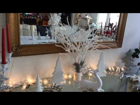 Christmas decorations and Thomas Kinkade - Switzerland