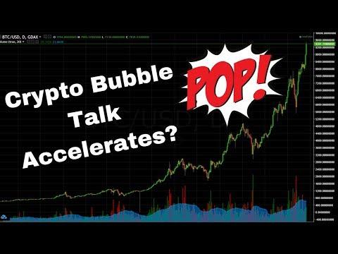 Crypto Bubble Debate Heats Up as Bitcoin hits $9,000