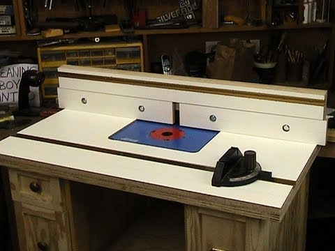 Router table top and fence youtube router table top and fence greentooth Images