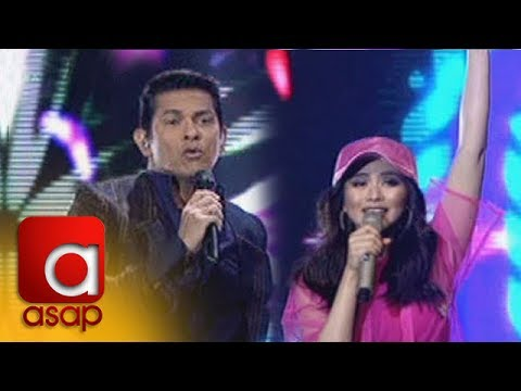 ASAP: Sarah Geronimo and Gary V in an energetic duet of