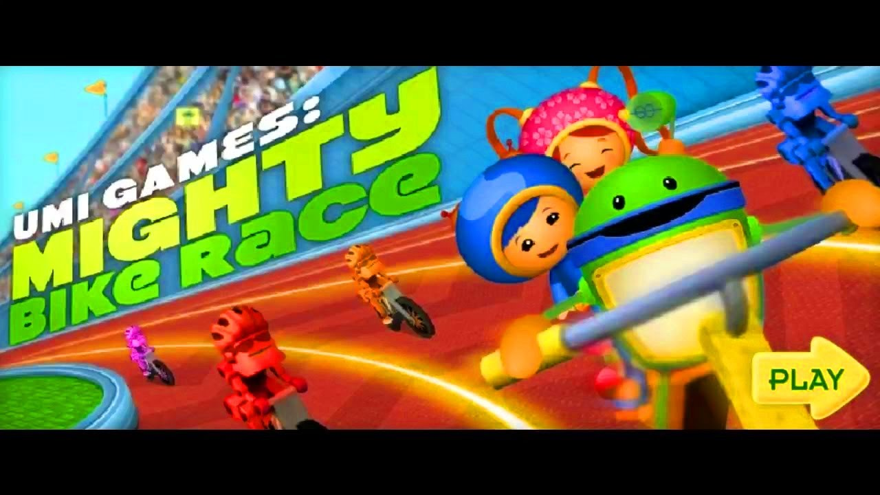 Team Umizoomi | Umi Games: Mighty Bike Race | Nick Jr Game for Kids!