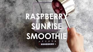 Raspberry Sunrise Smoothie