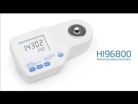 HI96800 Refractive Index/Brix Refractometer Overview