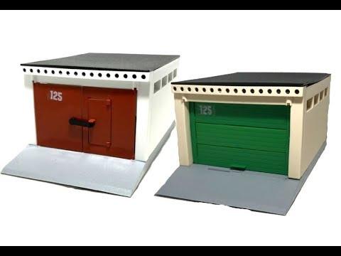 Наконец-то в России для детей выпустили игрушечный гараж!