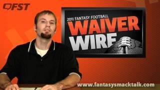 2011 fantasy football -  week 6 waiver wire pick ups