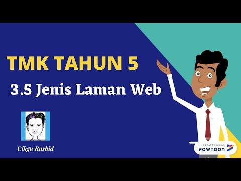 Tmk Tahun 5 3 5 Jenis Laman Web Youtube