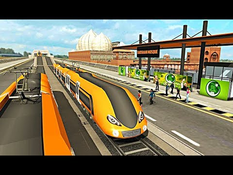 Orange Line Metro Train Game - New Train Simulator - Chuburji and Punjab Assembly