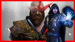 GOD OF WAR #5 SHADOW OF ALFHEIM [PS4 Pro]