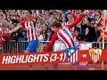 Atlético de Madrid vs Sevilla FC 3 - 1