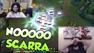 Imaqtpie Ditching Delta Fox?   Scarra Setting Voyboy Up For Invade - LoL Funny Stream Moments #166