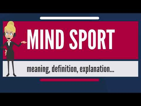 What is MIND SPORT? What does MIND SPORT mean? MIND SPORT meaning, definition & explanation