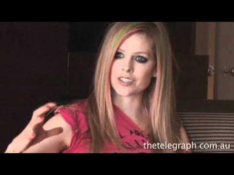 The Daily Telegraph Australia - Avril Lavigne interview
