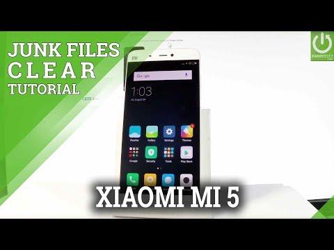 XIAOMI Mi 5 CLEAN JUNK FILES / REFRESH FILES
