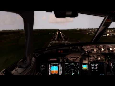 P3D I PMDG 737 St Denis - Maurice International Airport for Sky Alliance/ immersion flight