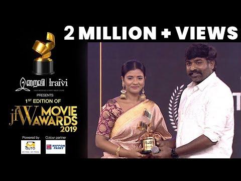 Jfw Movie Award 2019| Aishwarya Rajesh - Best Actress Critic |Kanaa