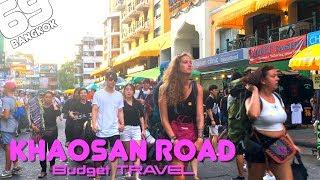 Khaosan Road / Tourist Spot / Rambuttri