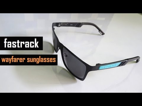 Fastrack Wayfarer Sunglasses Unboxing | Rectangular Goggles | M101BK1P | First Look | Review