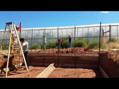 Compost pit and bays by Daystar Adventist Academy students