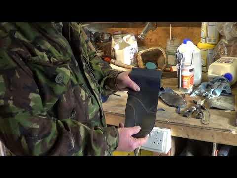 DIY Metal Detecting Trowel Sheath: Part 2