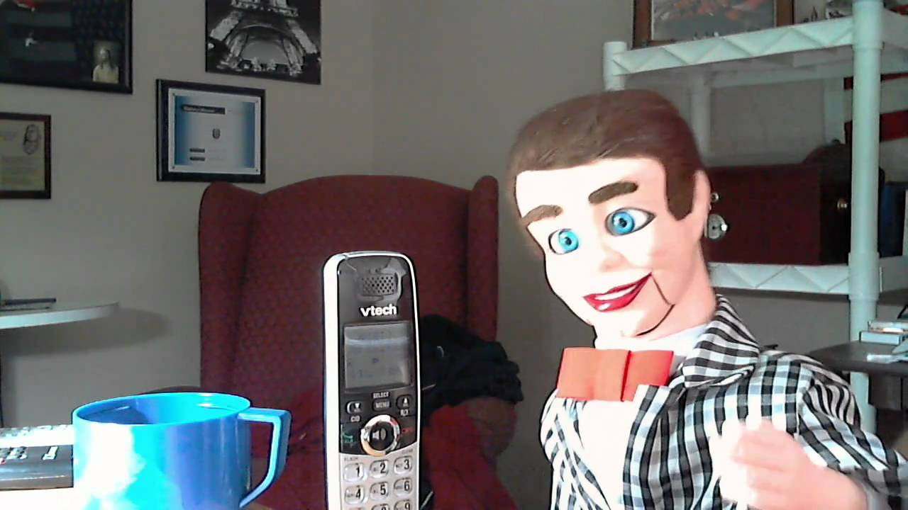 Logitech Webcam The Danny O'day Show: Who's The Dummy Now? Part One